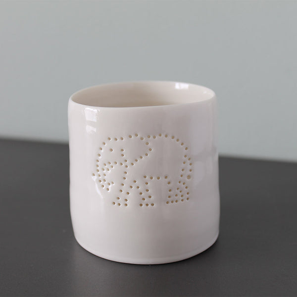 Luna Lighting Mini Tea Light Holder - Elephant