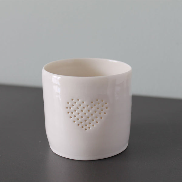 Luna Lighting Mini Tea Light Holder - Full Heart