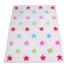 Girls Star Rug - Large