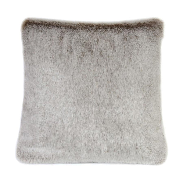 Helen Moore Latte Faux Fur Cushion 40cm x 40cm