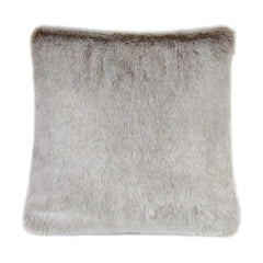 Helen Moore Latte Faux Fur Cushion