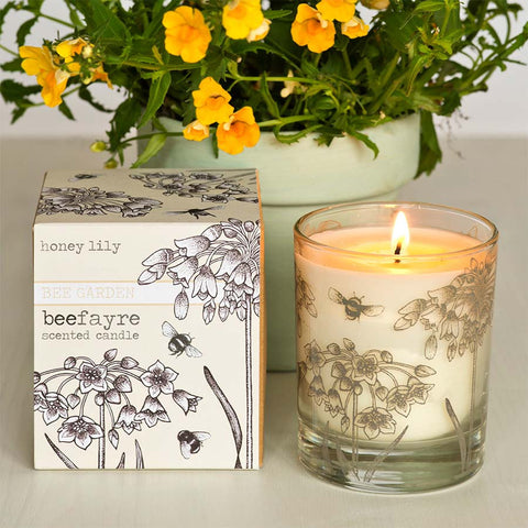 Beefayre Honey Lily Large Scented Candle