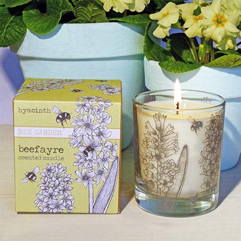 Beefayre Hyacinth Large Scented Candle