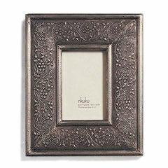 Nkuku Jambiani Metal Photo Frame 4 x 6""