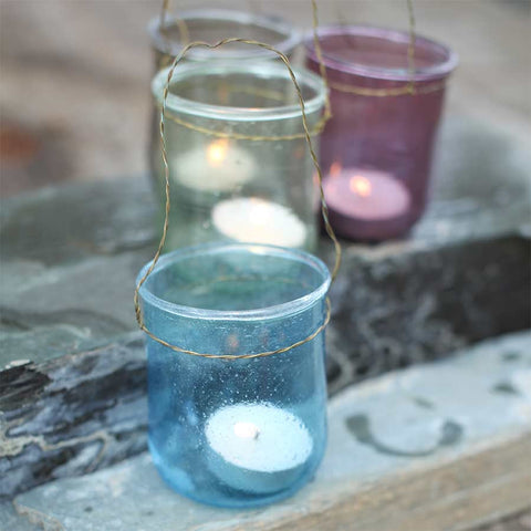 Nkuku Kota Coloured Tea Light Holder