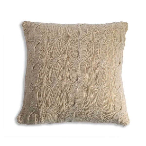 Nkuku Lambswool Cushion Oatmeal - 42x42cm