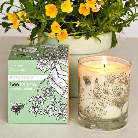 Beefayre Linden Blossom Large Scented Candle