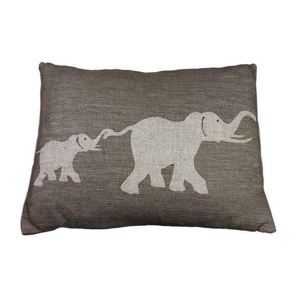 Helkat Elephant Cushion - 43x33cm