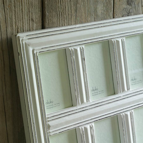 "Nkuku Manyara Wood Photo Frame 9 x (4 x 6"")"