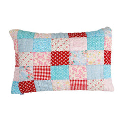 Matilda Quilted Patchwork Pillowcase