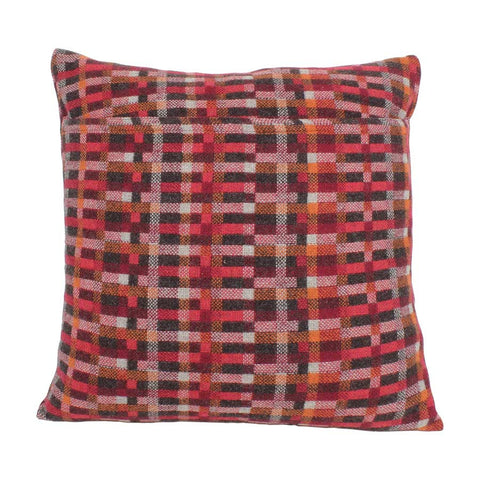 Melin Tregwynt Cushion Large 45x45cm Carew Ember