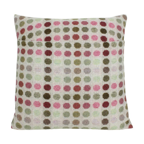 Melin Tregwynt Cushion Large 45x45cm Mondo Rose