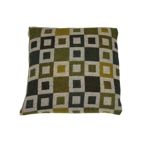Melin Tregwynt Cushion Small 30x30cm Madison Gold