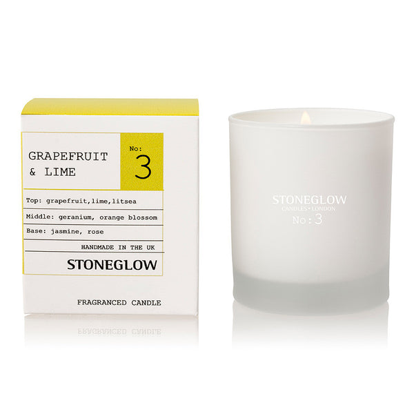 Stoneglow Modern Apothecary No3 Candle - Grapefruit & Lime