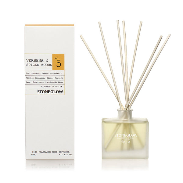 Stoneglow Modern Apothecary No5 Diffuser - Verbena & Spiced Woods