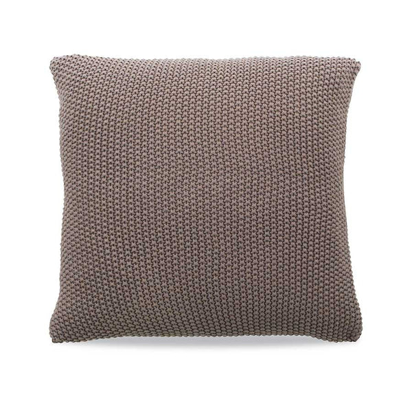 Nkuku Moss Stitch Cushion Pewter - 40x40cm
