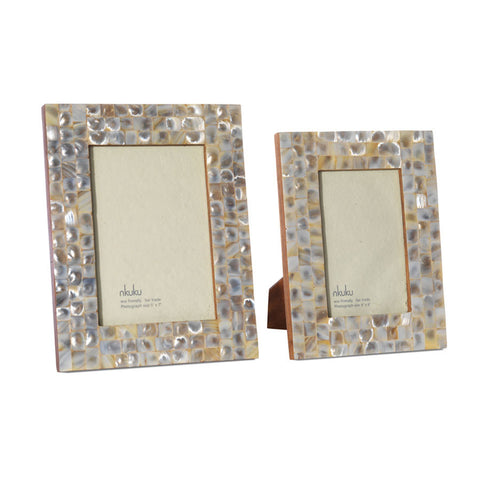 Nkuku Mother of Pearl Photo Frame