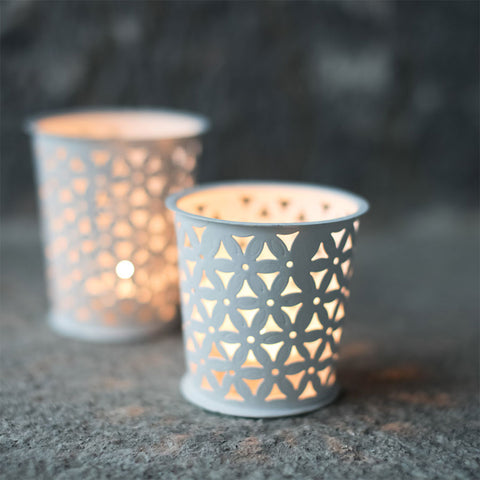 Nkuku Petal Pot Tea Light Holder