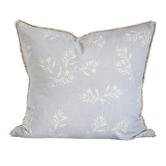 Raine and Humble Olive Grove Cushion Blue Grey 60x60cm