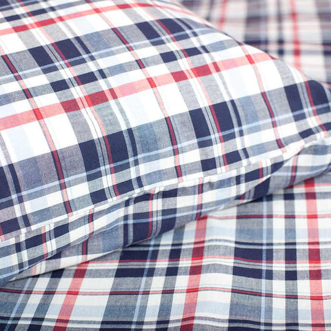 Highland Check Duvet Set - Cot Bed