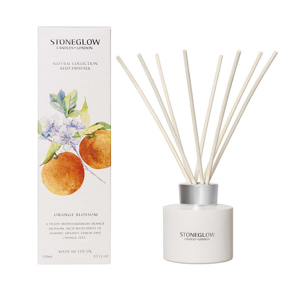 Stoneglow Botanicals Reed Diffuser - Orange Blossom