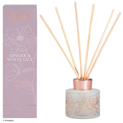 Stoneglow day flower new ginger & white lily diffuser
