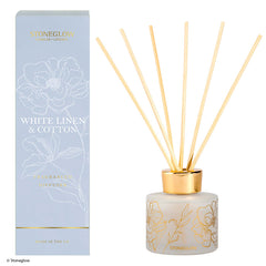 Stoneglow day flower new white linen & cotton diffuser