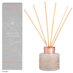 Stoneglow day flower new white tea & wisteria diffuser