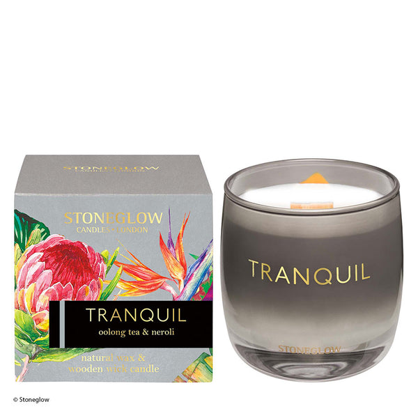 Stoneglow Infusion Tranquil Oolong Tea & Neroli Candle