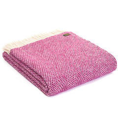 Tweedmill Throw Beehive Cherry