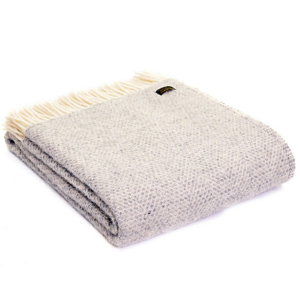 Tweedmill Throw Beehive Grey