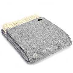 Tweedmill Throw Illusion Grey