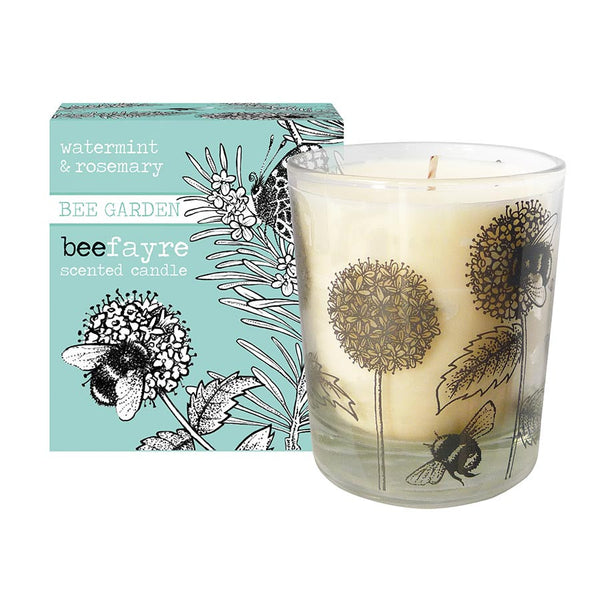 Beefayre Watermint & Rosemary Large Scented Candle