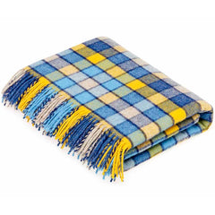 Bronte By Moon Berlin Blue Yellow Throw