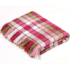 Bronte By Moon Berlin Pink Natural Throw