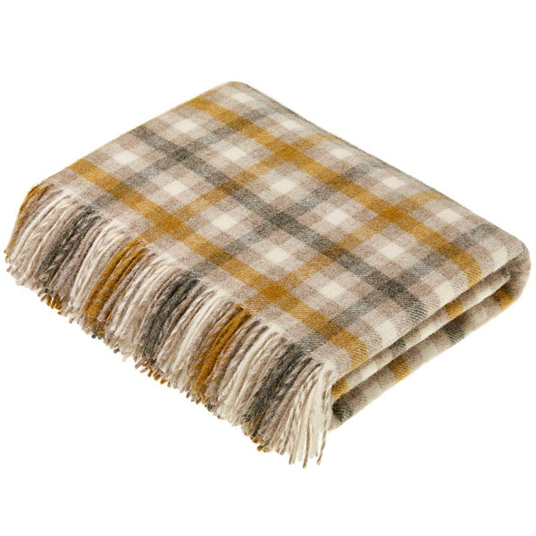 Bronte By Moon Bibury Natural Throw