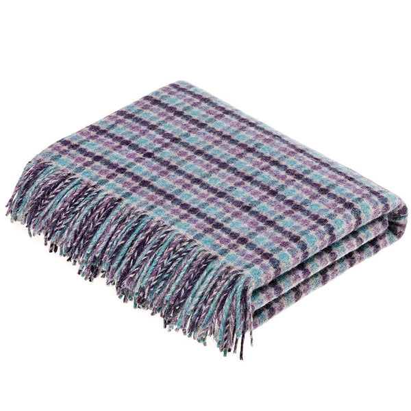 Bronte By Moon Chicago Heather Pure New Wool Throw