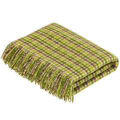 bronte by moon chicago lime throw blanket