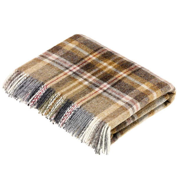 Bronte By Moon Glen Coe Mustard Throw