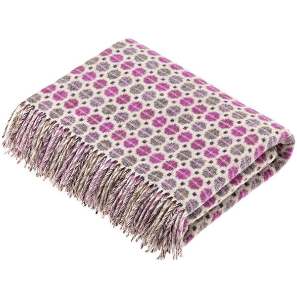 Bronte By Moon Milan Clover Lambswool Throw