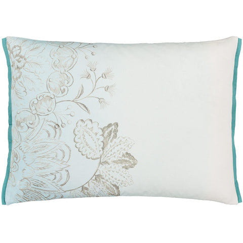 Designers Guild Camille Platinum Cushion 60x45cm