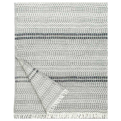 Lapuan Kankurit Aino Grey Black Blanket Throw