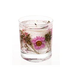 Stoneglow Botanicals - Meadow Flower Natural Wax Gel Tumbler Candle