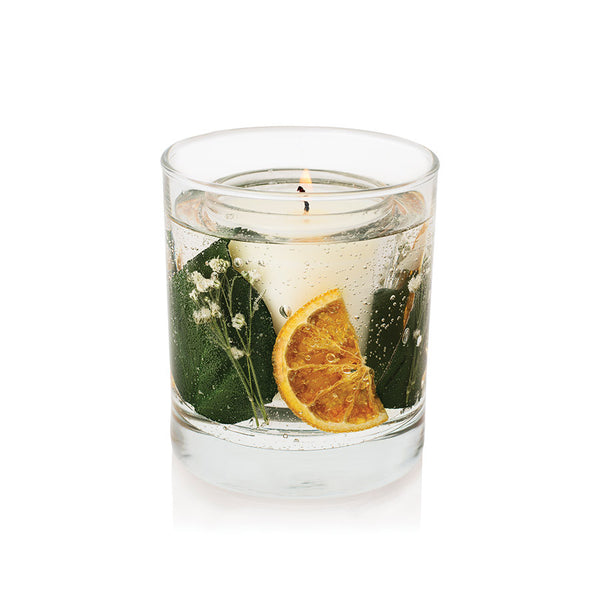 Stoneglow Botanicals - Orange Blossom Natural Wax Gel Tumbler Candle