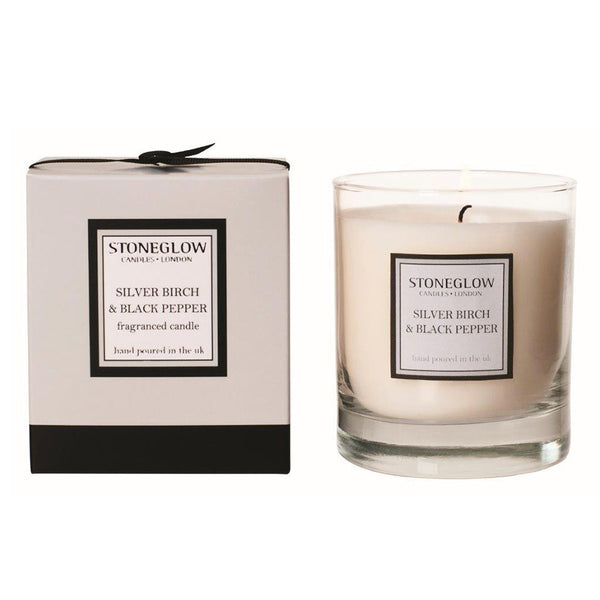 Stoneglow Modern Classics Candle - Silver Birch & Black Pepper