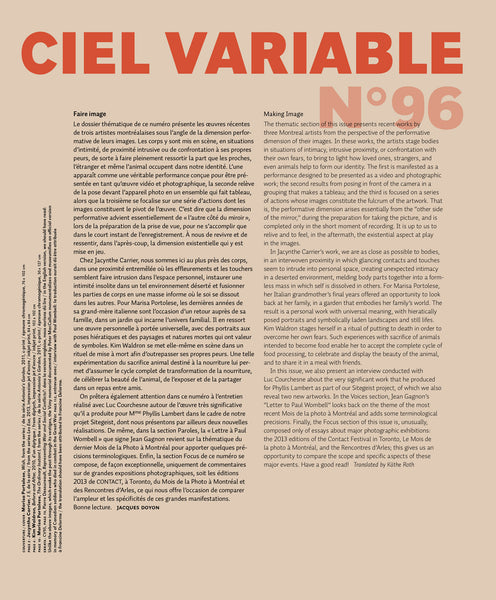 CV96 - Éditorial + Introduction