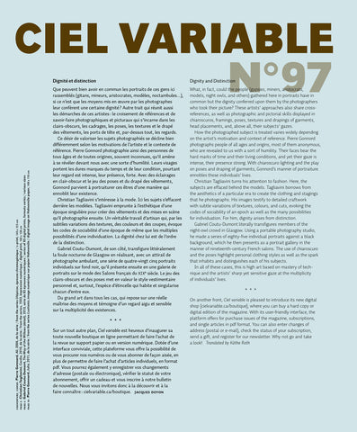 CV97 - Éditorial + Introduction