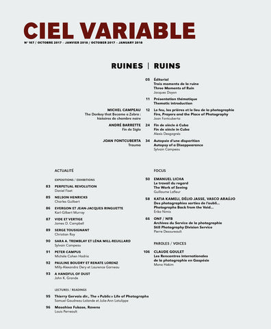 CV107 - Éditorial + Introduction