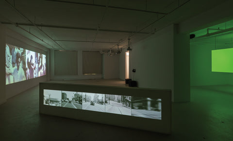 Émilie Serri, The Space Between the Seconds, 2018, vue de l'exposition / exhibition view