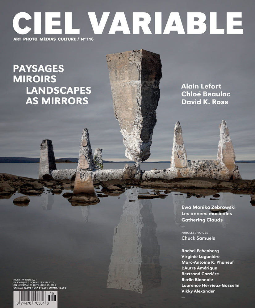CIEL VARIABLE 116 - PAYSAGES MIROIRS